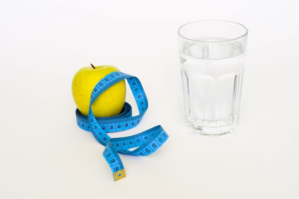 weight loss with water