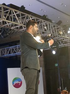 Event Host of Godrej Professional