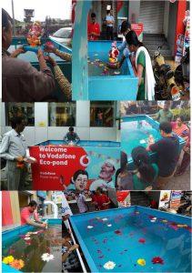 Use of Vodafone Eco-Ponds