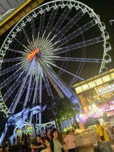 ferris wheel at bangkok