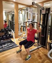 Sweetannu in Gym