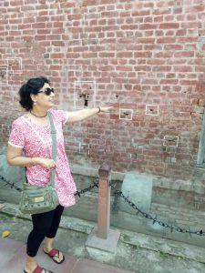 Historic Jalian wala Bagh Wall