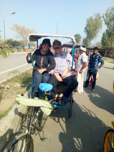 Cycle Rickshaw ride