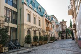 morning streets of Tbilisi