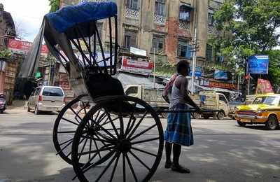 Hand Rickshaw Kolkata